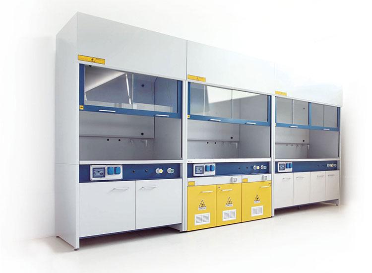 Talassi arredamenti cappe chimiche cappe laboratorio for Arredi da laboratorio